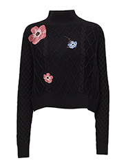 THDW TN EMBROIDERED - BLACK