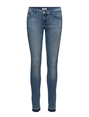 MID RISE SKINNY NORA - MAINE DARK BLUE STRETCH