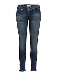 MID RISE SKINNY NORA - TEXAS DARK BLUE STRETCH