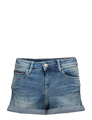 CLASSIC DENIM SHORT, - FLORIDA LIGHT BLUE STRETCH