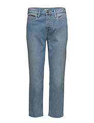 HIGH RISE SLIM IZZY - TOMMY JEANS LIGHT BLUE RIGID