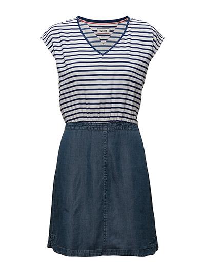 Thdw Mix Fabric Dress S/S 20