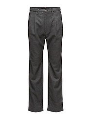 HE WOOL RELAXED TROUSER - GREY