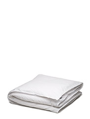 Hope Plain Duvet Cover - WHITE