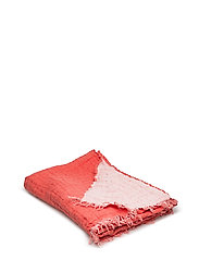 Hannelin Throw - ROUGE/WHITE
