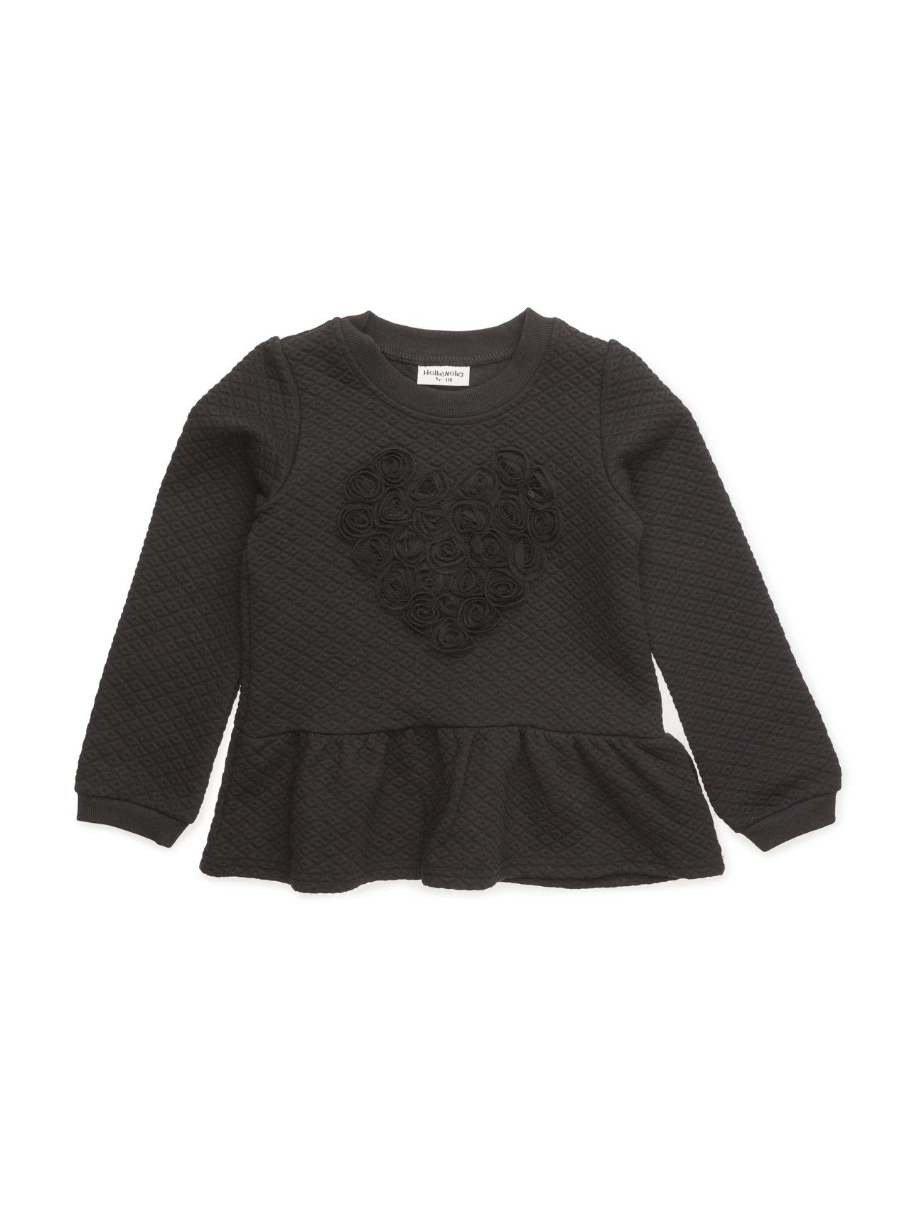 Sweat Shirt Hollie Nolia  til Børn i Sort