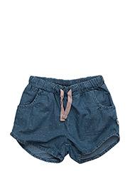 Shorts - WASHED DENIM