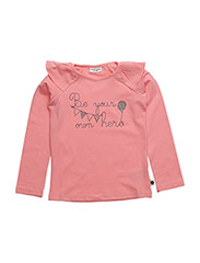 T-shirt L/S - EASY CORAL