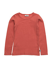T-shirt L/S - FOX RED
