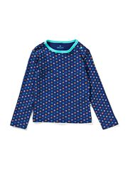 T-Shirt - DeepBlue/Multicolor/Clover