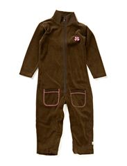 Jump Suit - Log/Plum/Velour