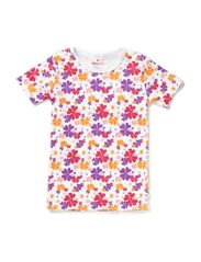 T-Shirt S/S - Lilac / Camouflage
