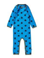 Bodysuit - Bright blue/tar mega clover