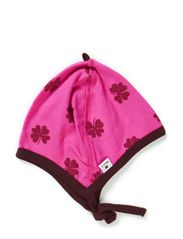 Cap - Warm pink/wine mega clover