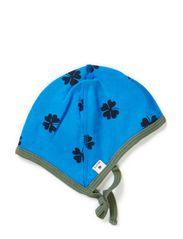 Cap - Bright blue/tar mega clover