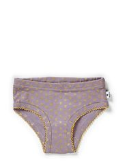 Panties - Dusty Lilac/gold clover