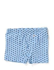 Boxershorts - Soft blue/tar clover