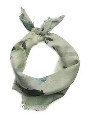 TERRAZZO Wool/Silk Neck - BLOCKED CHECK