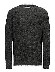 MOSS bouclet sweater - GREEN