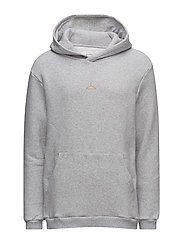 HANGER HOOD Sweater - GREY MELANGE