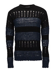 DIVIDED Knit - BLUE