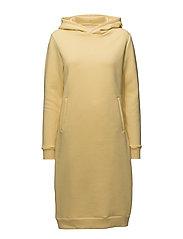 HANG LOOSE Dress - LIGHT YELLOW