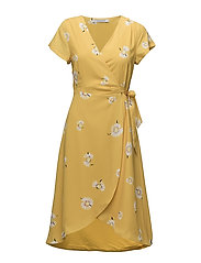 CHARLOTTE printed dress - YELLOW