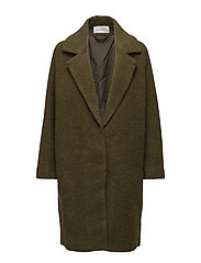 SELENIUM Coat - GREEN