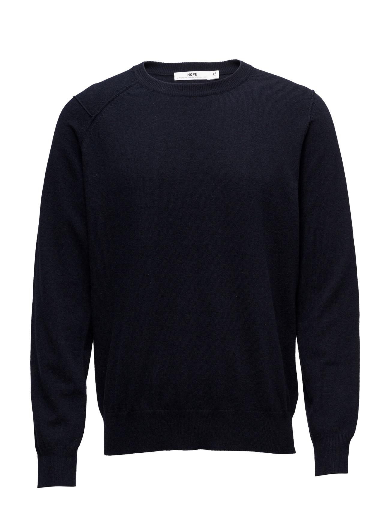 Wanted Sweater Hope Rundhalsede til Herrer i dk Blå