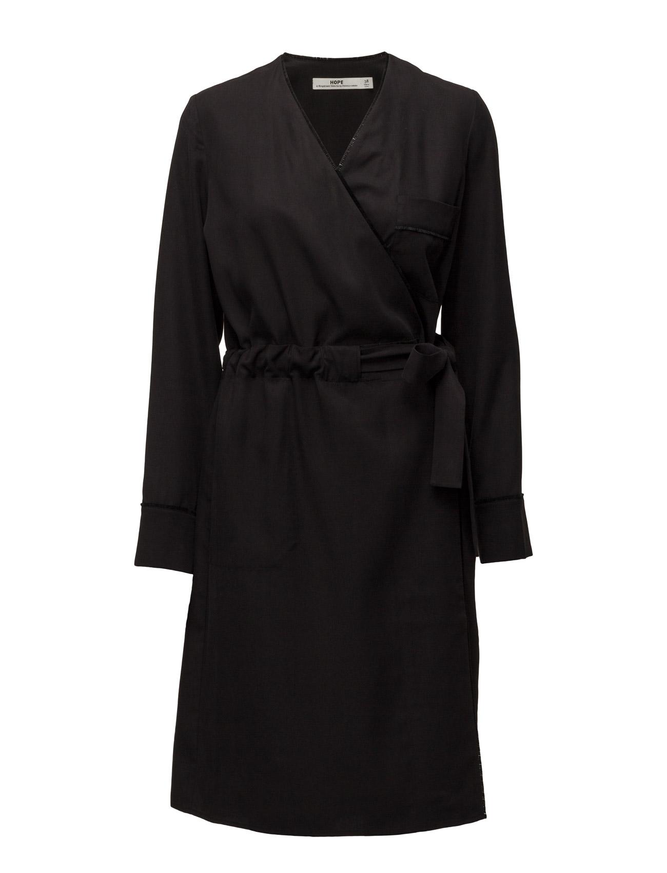 Wrap Dress Hope Knælange & mellemlange til Damer i Sort