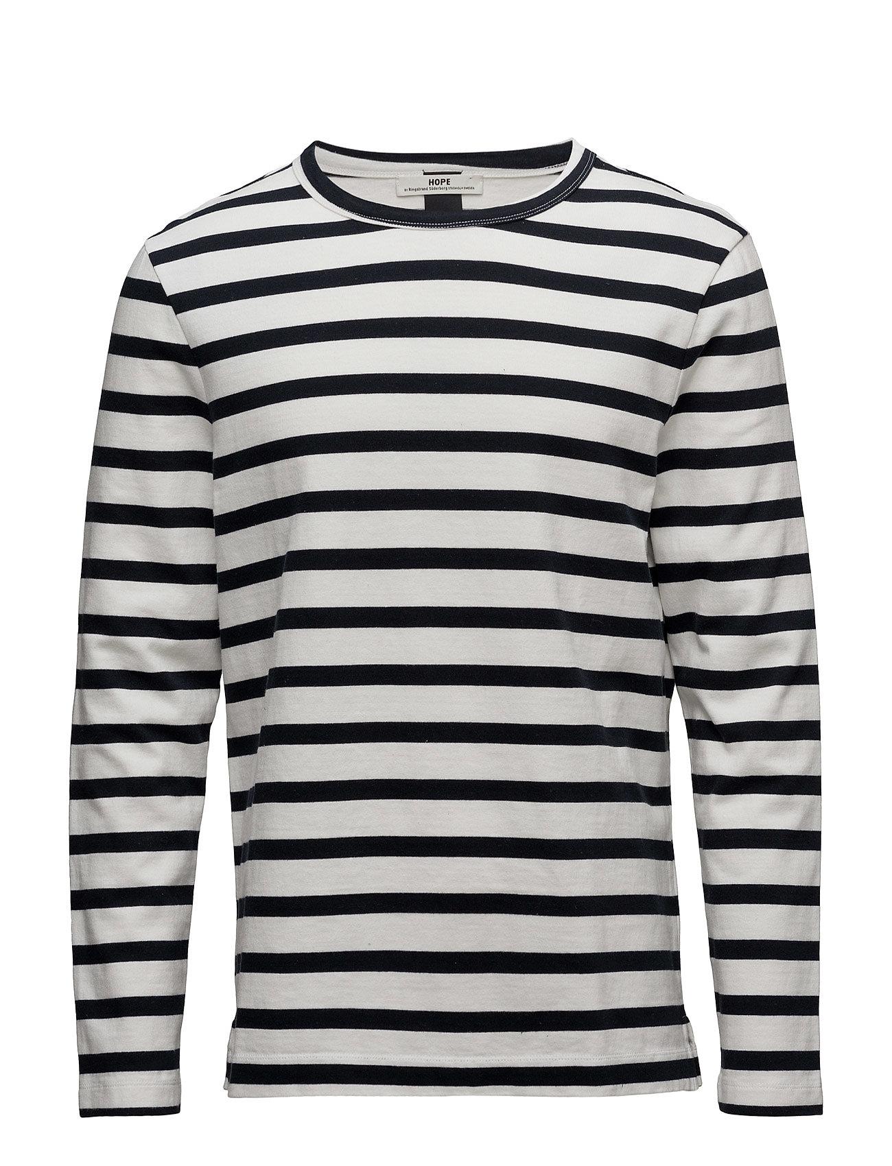 Pen Ls Tee Hope T-shirts til Mænd i Blå Stripe