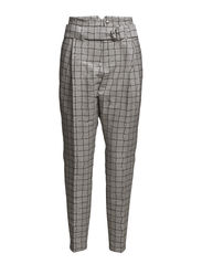 Ferry Trouser - Off White Check