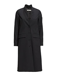 Coat - Blue Black