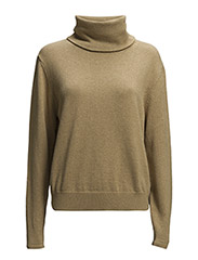 Knitted Sweater - Beige Mel