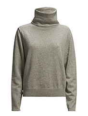 Knitted Sweater - Grey Mel