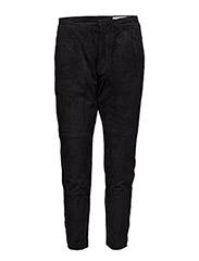 Krissy Suede Trouser - BLACK