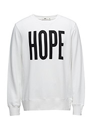 Hector Sweater - WHITE PRINT