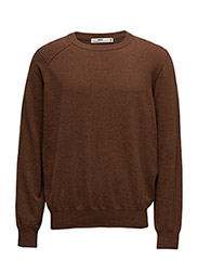 Wanted Sweater - LT BROWN MEL