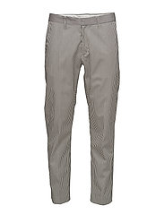 Hiro Trouser - WHITE STRIPE