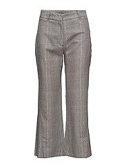 High Trouser - YELLOW CHECK