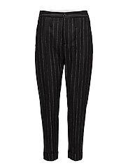 Law Trouser - BLACK STRIPE