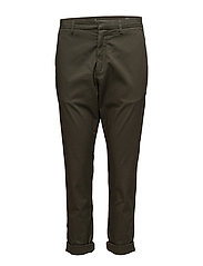 News Trouser - KHAKI GREEN