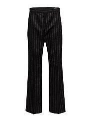Wide Trouser - BLACK STRIPE