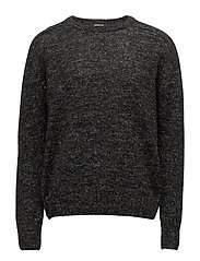 Compose Sweater - BLACK MELANGE