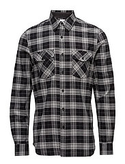 Uni Pocket Shirt - BLACK CHECK