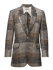 Strong Blazer - BEIGE CHECK