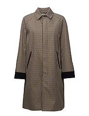 Milo Coat - GREEN CHECK