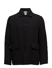 Shirt Jacket - BLACK TWILL