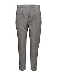 Law Trouser - BLACK CHECK