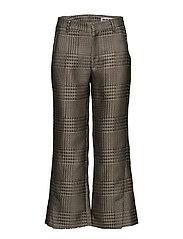 High Trouser - BEIGE PATTERN